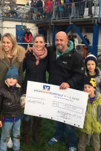 Unterstützung der Bambinis TSV Handschuhsheim Rugby